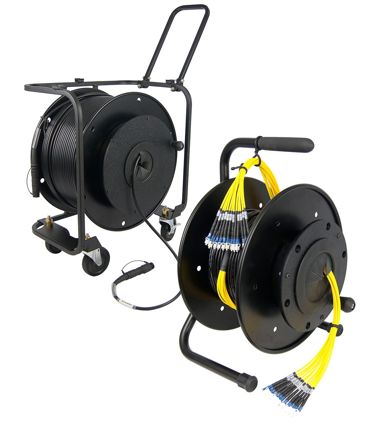 HANNAY Cable Reels AVF14 and AVF18 with SMPTE Cable