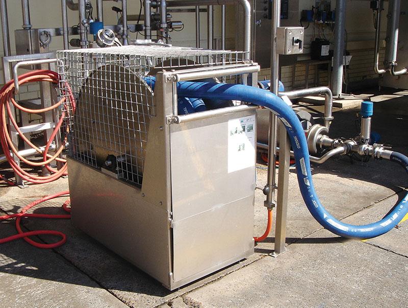 Custom Reels Improve Safety - Victorian dairy - hose reel