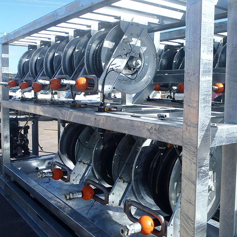 Mining Hose Reels Tech Fuel Lube Module