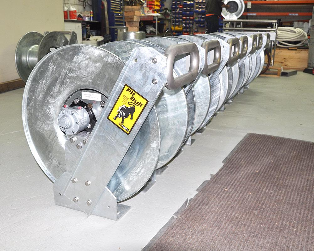 Reel Tech - Pit-Bull Hose Reels