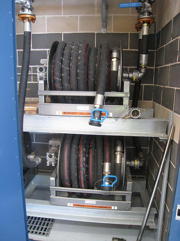 Power utilities hose reels