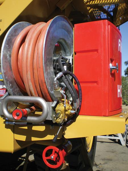PitBull Mining Hose reel